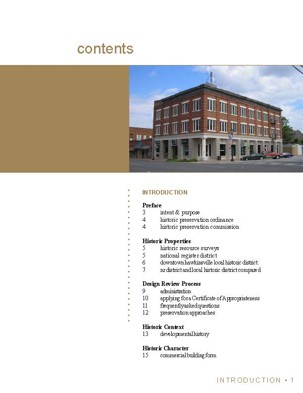 Historic Preservation Guidelines